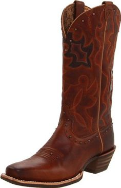 Ariat boots Runaway in caramel/chocolate leather