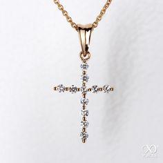beautiful diamond cross necklace by yorxs #yorxs #diamant #anhänger #kreuz