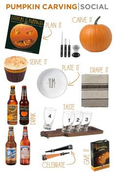 pumpkin carving social - Sugar and Charm - sweet recipes - entertaining tips - lifestyle inspiration Sugar and Charm – sweet recipes – entertaining tips – lifestyle inspiration