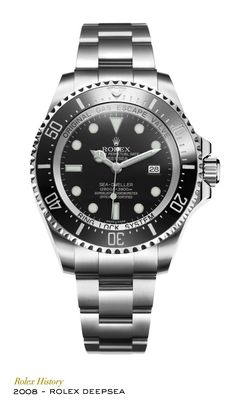 New-generation Professional divers' watch waterproof to a depth of 3,900 metres (12,800 feet) thanks to the Ringlock system, a reinforced case architecture developed and patented by Rolex. Equipped with a Parachrom hairspring and a Cerachrom bezel, this model introduced the new Chromalight display with long-lasting luminescence and the patented rapid extension system for the bracelet, the Rolex Glidelock. #RolexOfficial