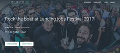 Landing.careers Festival 2017 - 2nd Edition 2 to 3 JUN 2017 @Lisbon   Pre-register for the Landing.careers Festival 2017   This year were going bigger. More you more international employers great talks more panels 24h hackathon more fun! Get the chance to meet to some of the best employers in Europe maybe even get an interview on the spot or just shake some hands and create connections for the future. Enjoy the breathtaking views of Lisbon from the Landing Boat join the heated debates and…