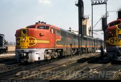 RailPictures.Net Photo: ATSF 52 Atchison, Topeka & Santa Fe (ATSF) Alco PA-1 at Chicago, Illinois by John Dziobko www.godfatherrails.com