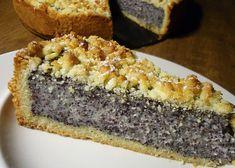 Německý dort s mákem a tvarohem recept - TopRecepty.cz Baking Recipes, Cookie Recipes, Dessert Recipes, Czech Desserts, Fruit Bread, Czech Recipes, Sweet Cakes, Sweet And Salty, Dessert Bars