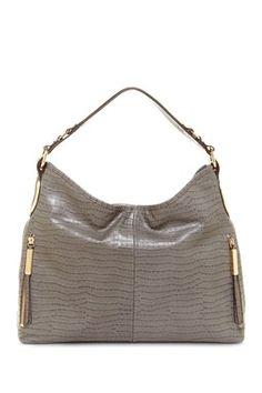 34c50ce251f B. Makowsky Baker Croco Leather Hobo Big Purses, Purses And Handbags,  Slouch Bags