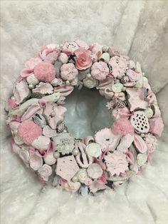 Burlap Wreath, Floral Wreath, Wreaths, Home Decor, Summer, Floral Crown, Decoration Home, Door Wreaths, Room Decor