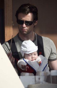 Ava and Hugh Jackman