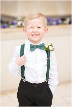 Ogden Temple Winter Wedding – [pin_pinter_full_name] Ogden Temple Winter Wedding Ring bearer cheesy smile at the camera with emerald green suspenders and bowtie Emerald Wedding Colors, Emerald Green Bridesmaid Dresses, Emerald Green Weddings, Fall Wedding Colors, Wedding Blue, Temple Wedding, Green Wedding Themes, Wedding Hair, Green Fall Weddings
