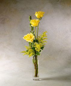 Yellow flowers. Special for me as I had them in my wedding bouquet.