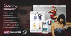 Download and review of Glammy - eCommerce WordPress Theme, one of the best Themeforest eCommerces themes