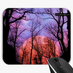 Mousepad - Moonrise canyon - by PINO