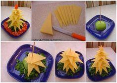Lebensmittel als Dekoration