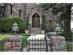 Gorgeous entrance to this luxury #home MLS ID#: 1064921 - Single Family Home Real Estate | Denver, CO 80206