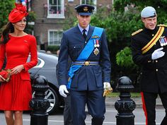 Kate, William and Harry prepare to join the Queen June 3, 2012 for the Pageant on the Thames in celebration of her Diamond Jubilee.