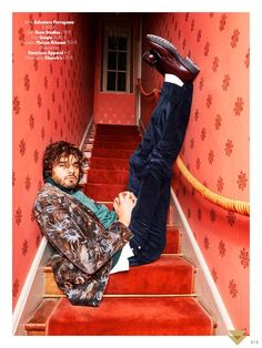 The whimsical world of director Wes Anderson is once again front and center as GQ France takes inspiration from The Royal Tenenbaums. Shooting a fashion editorial for its October 2015 issue, GQ France calls on photographer Dylan Don and stylist Letitia Paul. Starring in the quirky shoot, Brazilian model Marlon Teixeira is front and center...[ReadMore]