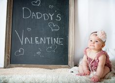 #Valentine 6 month baby photo shoot