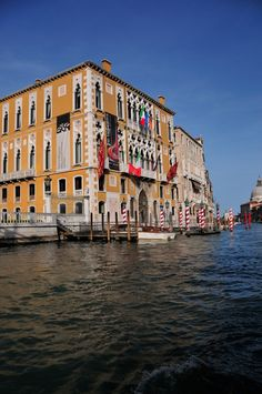 along the Gran Canal in #venice