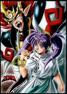 Another Zenki fanart! Zenki and Chiaki Enno 2 Naruto Wallpaper Iphone, Nanami, Manga Illustration, Funny Cartoons, Female Characters, Childhood Memories, Old School, Pop Culture, Sailor Moon Manga