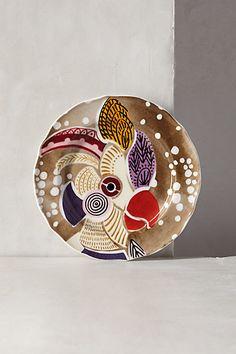 Bird Reverie Dessert Plate #anthropologie
