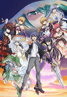 The official website for the Date A Live anime revealed on Wednesday that planning for a new Date A Live anime is progressing. Date A Live III, the th. Date A Live, Light Novel, Live Tv Show, Anime Date, Mysterious Girl, Anime Episodes, Full Episodes, Aichi, Film D'animation