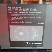 """TX65V 6.5"""" COMPONENT SPEAKER2 Diamond Music, Mp3 Player"""