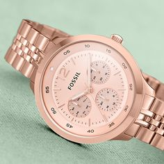 Time to spring forward! FOSSIL watch #smpliving