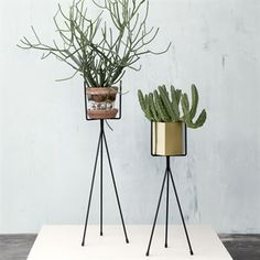 Ferm Living plant stand black - large - Ferm Living