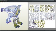 15 best papercrafts images on pinterest paper crafts digimon and