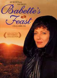 Incredibly charming film... written by Isak Dinesen