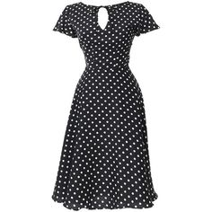 Welcome to the Formosa, darlings. The Formosa dress is a pine-worthy 1940s inspired swing in a breezy black and ivory dotted crepe, fabulously fresh from Uniqu…