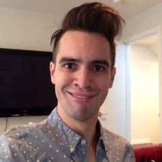 Funny faces by Brendon Urie