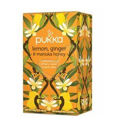 Tisana limone zenzero & miele di manuka Pukka