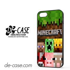 Minecraft Character DEAL-7263 Apple Phonecase Cover For Iphone SE Case