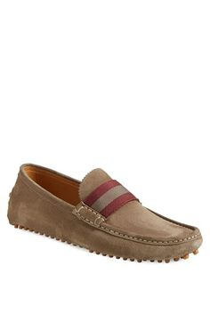 Gucci 'New Auger' Driving Shoe (Men) available at #Nordstrom