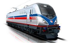 Download wallpapers Siemens ACS-64, 4k, Amtrak Cities Sprinter, electric locomotive, trains, SEPTA