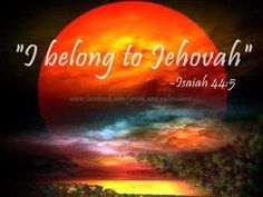 """""""I BELONG TO JEHOVAH"""" So grateful to be drawn to him through his Son and Holy Spirit to help endure life challenges. Psalm 83, Jehovah S Witnesses, Jehovah Witness, Eyes On The Prize, Bible Truth, Happy People, Heavenly Father, Bible Scriptures, Gods Love"""