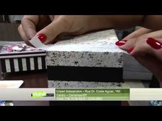 Mulher.com 27/02/2015 Marisa Magalhães - Caixa com scrapdecor Parte 1/2 - YouTube