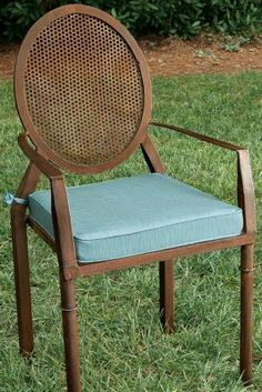 Saint-Saens Bistro Armchair Cushion from Soft Surroundings