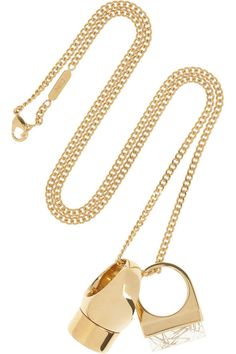 """I would be ecstatic to see this gold Chloé necklace under the tree this year. With its chunky ring pendants, the necklace feels very personal even though it's also a statement piece. Hint, hint, husband!"" Joanna Hillman, Style Director – Editors' Wish List"