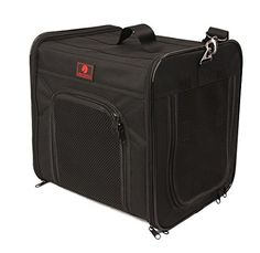 One for Pets The Cube Folding Pet Carrier, Large, Black -- To view further for this item, visit the image link.
