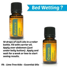 Bed Wetting Essential Oil Blend