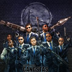 Golden State Gangstas Illustration