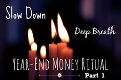 Bari Tessler | How To Create Your End-of-Year Money Ritual – Part One: Looking Back | http://baritessler.com