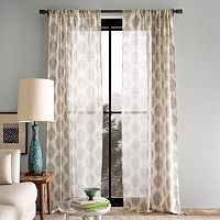 sheer paisley curtains