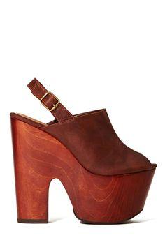 Shoe Cult Anticipate Platform - Brown | Shop Sale at Nasty Gal