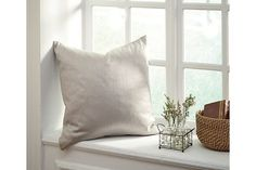 Gray Bienville Pillow and Insert by Ashley Furniture