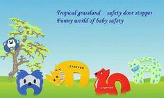 Child Cute Safety Animal Foam Door Stop Guard Baby Novelty Cartoon Q