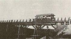 RIO TIETÊ - ANTIGA PONTE DE MADEIRA DA VILA MARIA - 1920----