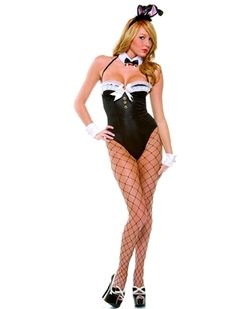 Racy Rabbit is one sexy play bunny. Get yourself noticed in this sexy bunny costume featuring a bodysuit, wrist cuffs, bowtie collar, fence net stockings and bunny ears. Costumes For Sale, Sexy Halloween Costumes, Adult Costumes, Costumes For Women, Goldilocks Costume, Playboy Bunny Costume, Bride Lingerie, Rabbit Costume, Sexy Legs