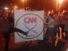 They saying that CNN is supporting the MUSLIM Brotherhood, KNOW you understand why they pulled the PLUG on CNN and they had to show the case of ZIMMERMAN, they are now in the DARK