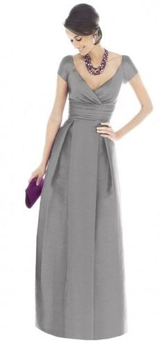 Alfred Sung D501 Mother of the Bride dress...Mom :) shorter, of course because I know you don't want a long dress!